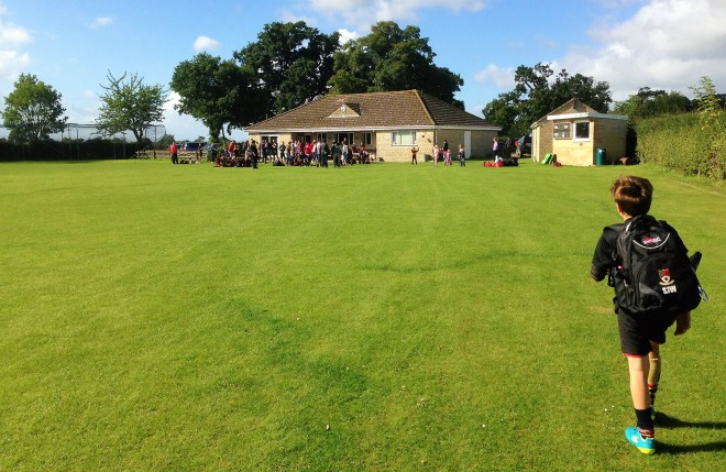Mini rugby at Bredon clubhouse