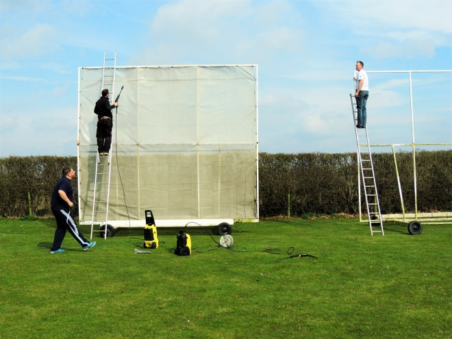 Sightscreens at Bredon Cricket Club