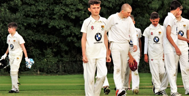 Bredon's Under 15s and Under 13s met for a friendly 20-over game at Hill Close