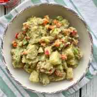 Healthy Vegan Potato Salad (No Mayo, Oil-Free)