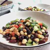 5 Bean Salad (Vegan)