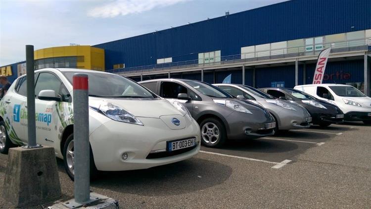 Nissan Electrique Tour à La Découverte De La Gamme Chez Ikea