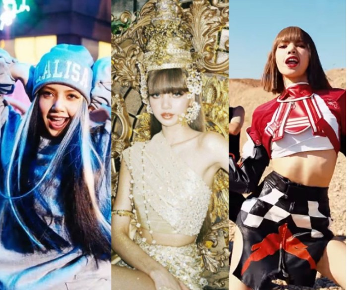 Lisa《LALISA》MV狂換13套服裝