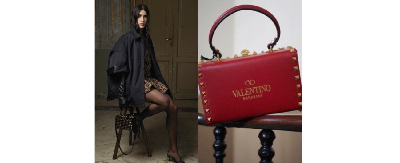 VALENTINO GARAVANI Rockstud Alcove箱型包