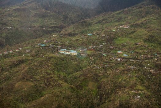 Salybia after Hurricane Maria