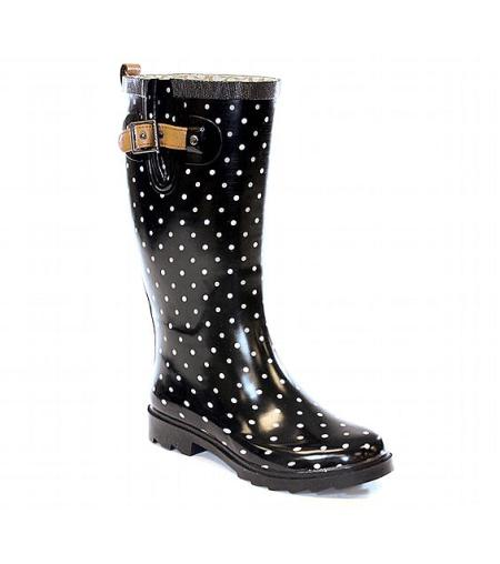 Classic Dot Rain Boot by Chooka $70.00