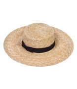 The Spencer Wide Brimmed Boater Hat