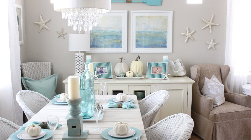 Coastal Fall Home Tour!