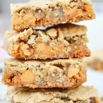 Butterscotch Oatmeal Blonde Brownies