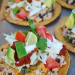 Tostada Tuna Melts
