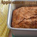 Gluten Free Maple Cinnamon Applesauce Bread