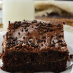 Gluten Free Marbled Cream Cheese Brownie Cake