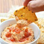 Gluten Free Italian Cream Cheese Hummus