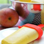 Gluten Free Mango Lime Cheesecake Popsicles