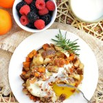 Rosemary Butternut Squash and Potato Hash