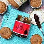 Gluten Free Almond and Fig Butter Filled Banana Muffins