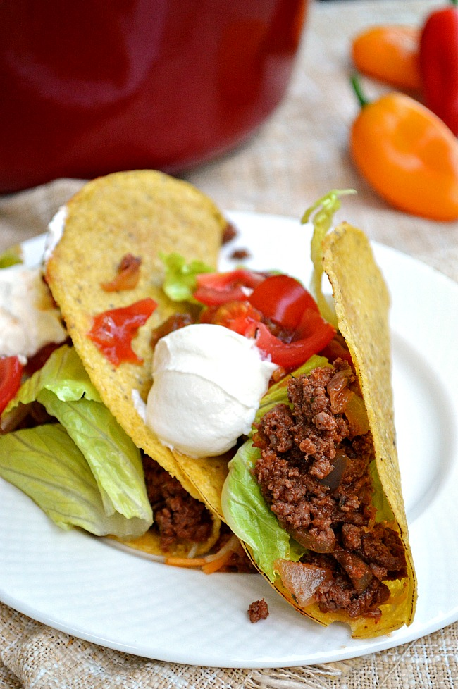 It only takes 30 minutes to make a delicious batch of Gluten Free Quick and Easy Taco Meat. It's a great filler for a variety of meals!
