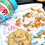 Gluten Free Honey Roasted Peanut Butter Pretzel Cookies