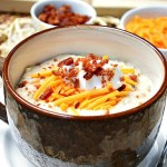 Gluten Free Baked Potato Ham Bone Soup