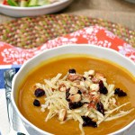 Gluten Free Maple Roasted Kabocha Squash Soup