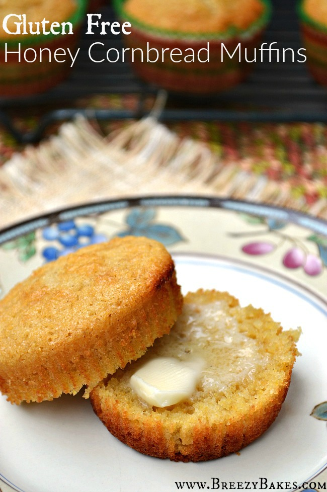 Welcome summer with these perfectly sweet Gluten Free Honey Cornbread Muffins. There's nothing like some homemade cornbread to accompany your BBQ and bring you closer to friends!