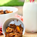 Gluten Free Sunrise Honey Granola