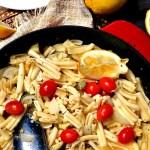 Gluten Free Lemon Basil Zucchini Pasta