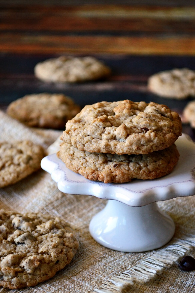 It's all about the cinnamon in these Gluten Free Cinnamon Spiced Old Fashioned Oatmeal Cookies. Add your favorite mix-ins for a warm and comforting homemade treat.