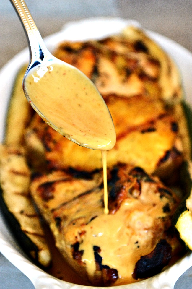 Get to know your grill and earn the respect of all your barbecuing friends with this recipe for Honey Mustard Barbecue Chicken with Grilled Pineapple. It's sweet, tangy, and full of smokey flavor!