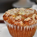 Bring on the morning with these perfectly sweetened Gluten Free Applesauce Streusel Muffins. You'll immediately fall in love with the combination of warm spices and sweet apple flavor. Plus, who can resist a crumbly, crunchy topping???