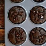 Gluten Free Dark Chocolate Muffins