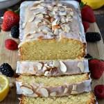 Gluten Free Lemon Almond Pound Cake