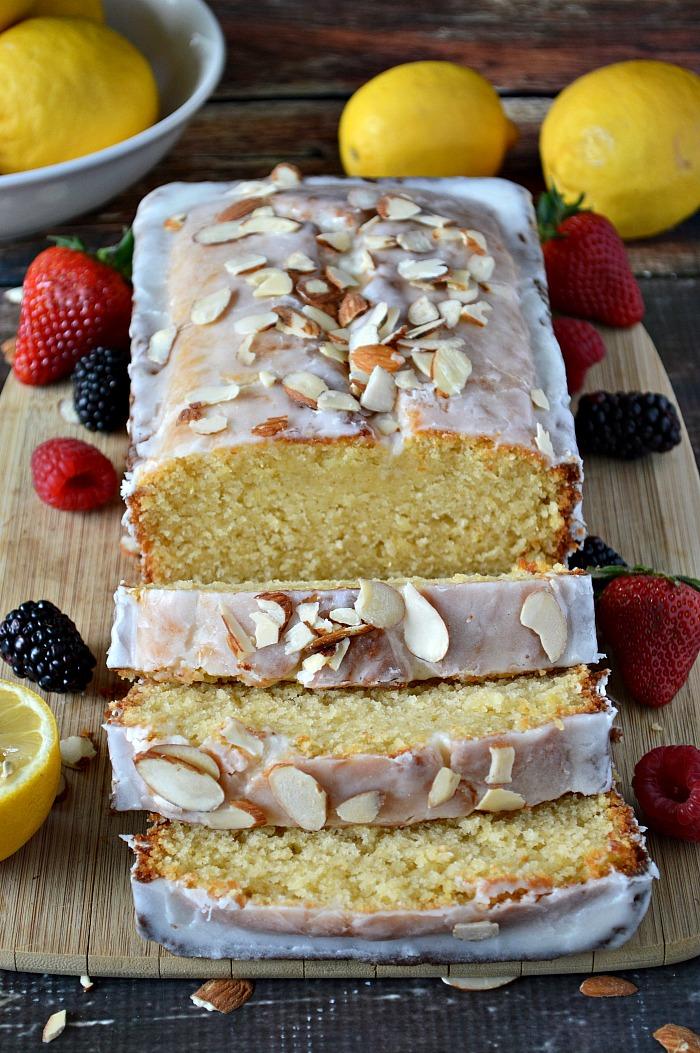 Gluten Free Lemon Almond Pound Cake Breezy Bakes