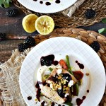 Enjoy the flavors of fall in this Maple Glazed Chicken with Blackberry Balsamic Sauce. Add a fresh touch of spring with crumbled goat cheese and lemon zest.