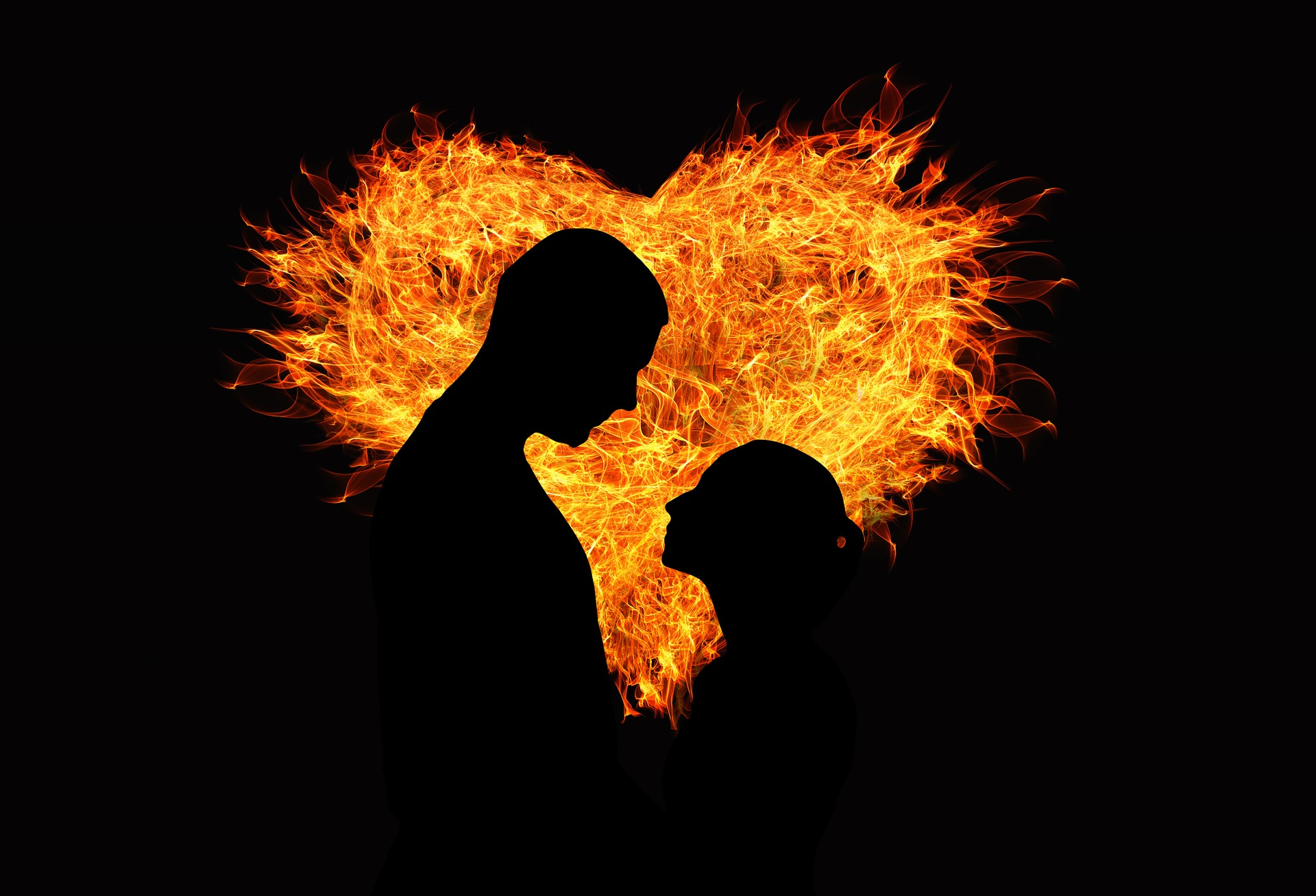 attract your wife by being loving. Demonstrate your love openly