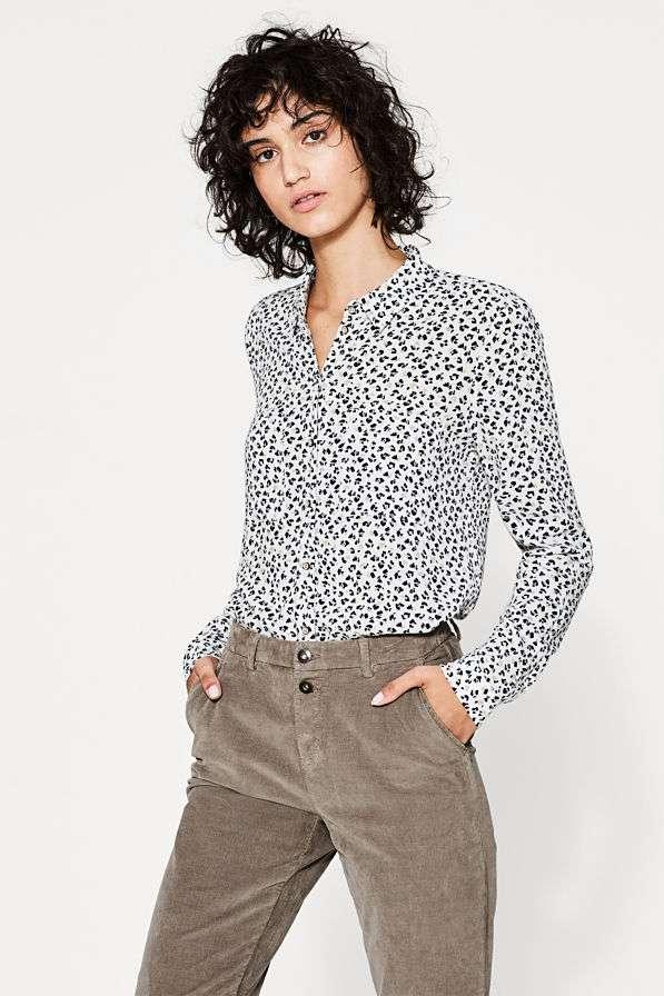 blouse print Esprit bregblogt.nl