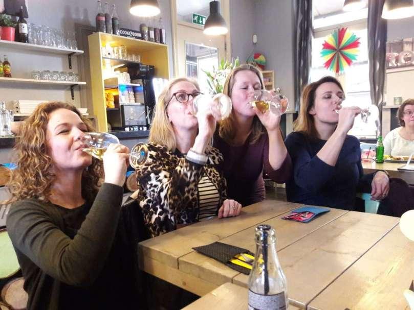 Wijn drinken bloggersdag bregblogt.nl