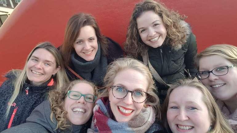 vriendinnen bloggersdag Roermond bregblogt.nl