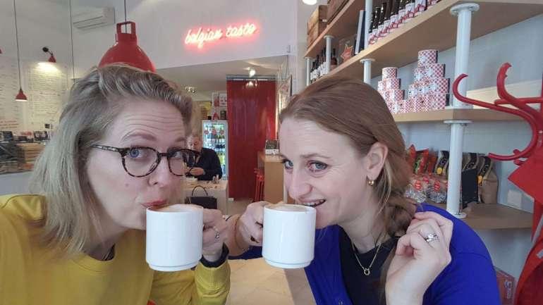 koffie drinken bregblogt.nl