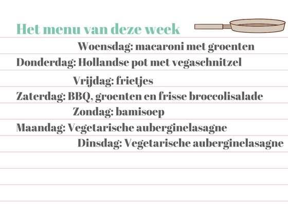 weekmenu #2 bregblogt.nl