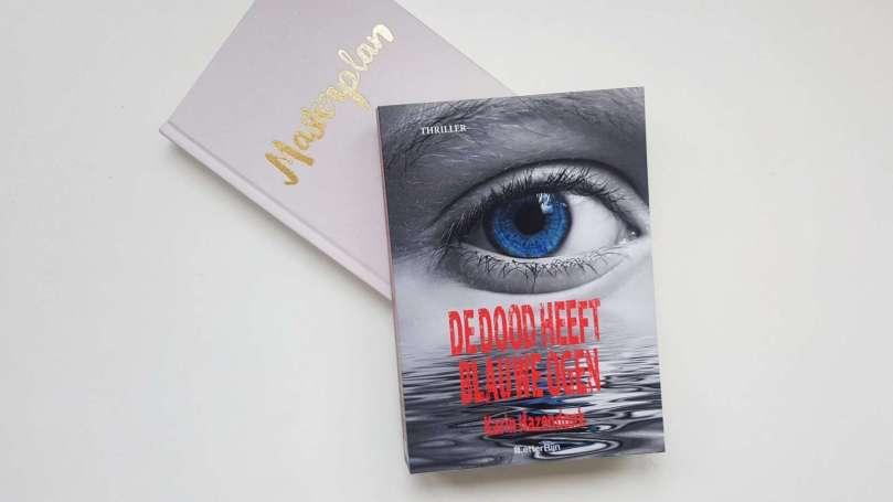 De dood heeft blauwe ogen - Karin Hazendonk bregblogt.nl