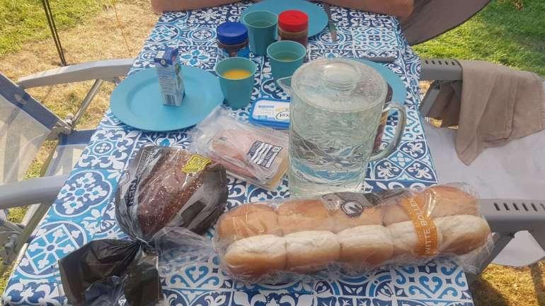 Camping ontbijt bregblogt.nl