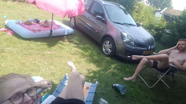 Chillen in de hittegolf camping Orisant bregblogt.nl
