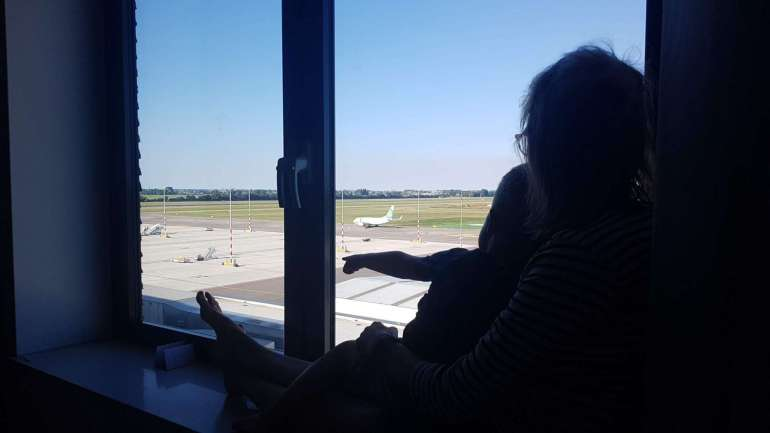 vliegtuigen spotten Worldhotel Wings Rotterdam Bregblogt.nl