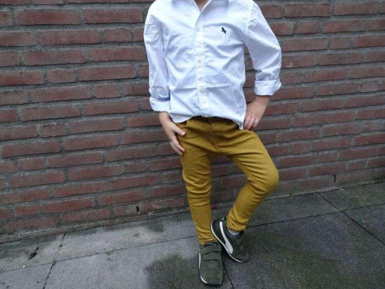 Overhemd H&M broek Zara bregblogt.nl