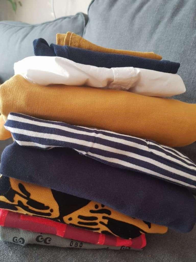 Stapel nieuwe kleren shoplog Laurens bregblogt.nl