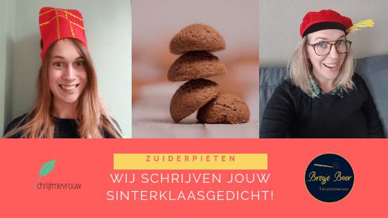 Sinterklaasgedicht op maat schrijfmevrouw.nl bregjeboer.nl
