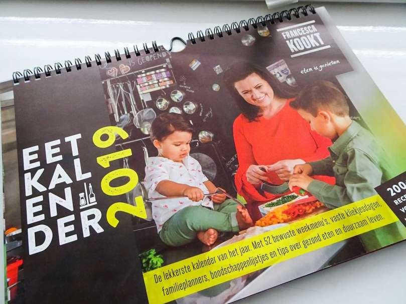 Eetkalender Francesca Kookt 2019 bregblogt.nl
