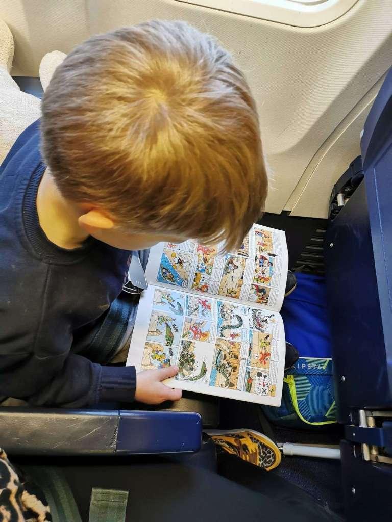 vliegen met kleuter Ryanair bregblogt.nl