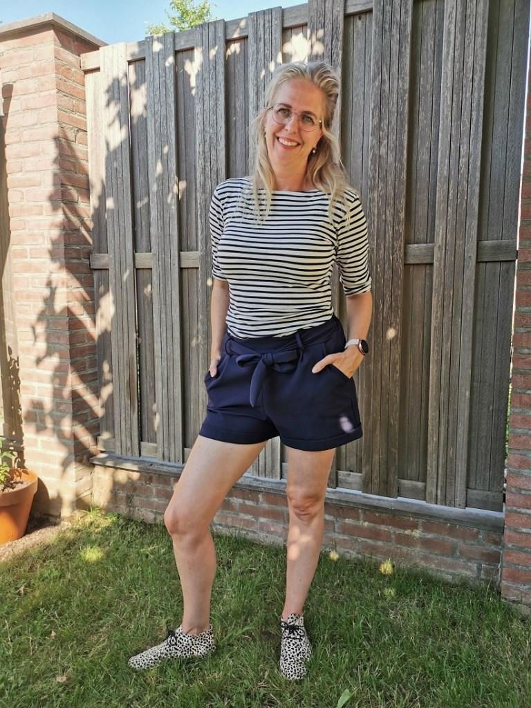 Outfit shirt streepjesshirt bregblogt.nl